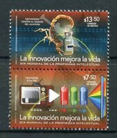 Mexico 2017 MNH Innovation Intl Intellectual Property Day 2v Set Stamps