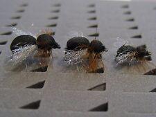 !OFERTA! Pesca a mosca.12 hormigas de ala FOAM para barbo,carpa. FLY FISHING (6)