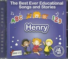 THE BEST EVER EDUCATIONAL SONGS & STORIES PERSONALISED CD - HENRY - ABC 4 ME