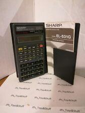 Vintage Sharp Scientific Calculator E L 531 G