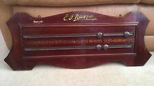 Antique E J Riley Wooden Snooker Billiard Table Wall Scoreboard Vintage Original