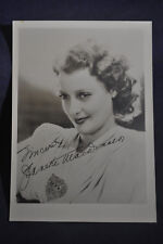 MGM Jeanette MacDonald Photo