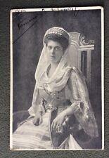CPA. Reine de GRECE. 1917. Reine SOPHIE. Couronne. Décoration.