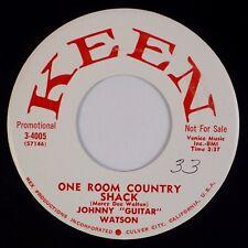 JOHNNY GUITAR WATSON: One Room County Shack US Keen '58 R&B 45 NM-