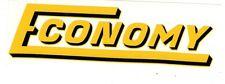 Economy Gas Engine Motor Hit & Miss Decal Briggs & Stratton Sears