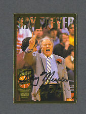 Ray Meyer signed 1994 Action Packed basketball trading card