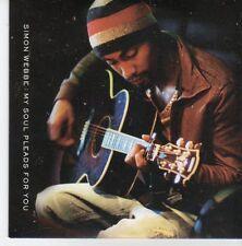 (EB406) Simon Webbe, My Soul Pleads For You - 2007 DJ CD