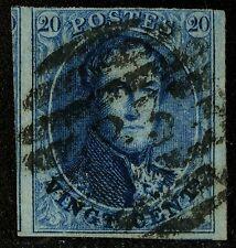 Belgium   1858-61   Scott #11  USED