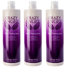 Crazy Angel Midnight Mistress 13% DHA 1L Fake Spray Tan Special Offer 3 for 2