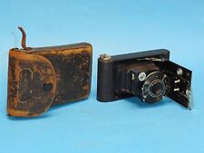 Antique EASTMAN KODAK Vest Pocket Kodak Model B Folding Camera with Case 27323
