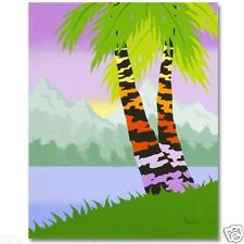 LARISSA HOLT PALMS REACH ORIGINAL OIL ON STRETCH CANVAS