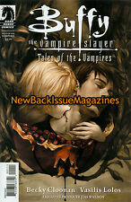 Buffy the Vampire Slayer Comic Variant 6/09,Tales of the Vampires,June 2009,NEW