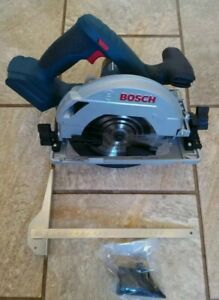 "Bosch GKS 18V-57 G 165mm 18 Volt Circular Saw ""Fits a Track Rail"" + 5 Drill Bits"