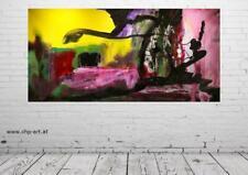 Großes Acryl Gemälde XXL Modern CHP1561 Handgemalt Bild Kunst Abstrakt 200x100cm
