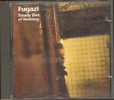 FUGAZI Steady Diet of Nothing CD 11 track 1991