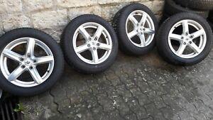 VW Touran 2, S. Alhambra, Alu Winterkompletträder,  205/55 R16, 91H ET46 (25)