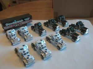 10 x Matchbox Convoy Kenworth + 1 Trailer - Job Lot - Mint
