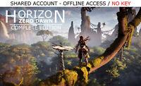 Horizon Zero Dawn Complete Edition PC Steam OFFLINE - READ DESCRIPTION