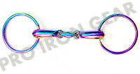 Rainbow Loose Ring Snaffle Horse Bit With Oval Link Stainless Steel