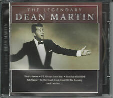 CD The Legendary Dean Martin (songs w/Margaret Whiting, Peggy Lee) FREE SHIPPING