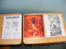 1971 Malin Berman  INFINITY Issue Three 3 Volume 1 & 2  Plus Supplement VF/NM