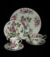 Vintage Charnwood by Wedgwood Fine Bone China Dinnerware 6 Piece Place Setting