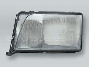 TYC Headlight Lens Headlamp Glass and Bezel LEFT fits 1994-1995 MB E-Class W124