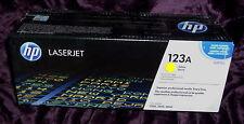 HP q3972a Cartuccia Di Toner Giallo 123a HP LJ 2550 2820 2840 originali HP NUOVO SIGILLATO
