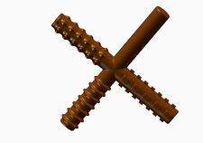 Chew Stixx Multi Textured Chewable Fidget Chocolate Flavored