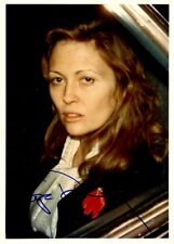 Unique FAYE DUNAWAY In-person Signed Photo