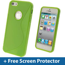 Green Dual Tone TPU Case for Apple iPhone 5 5s 5c SE Mobile Phone 4g Cover