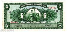 Perou PERU Billet 5 SOLES DE ORO LIMA 1965  P83  SERIE J91 BON ETAT