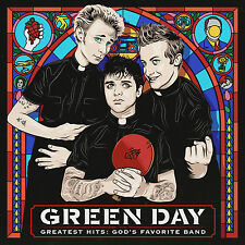 Green Day Greatest Hits God's Favorite Band CD 2017 Reprise MINT