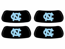 NCAA North Carolina Eye Black 2 Pair Peel-N-Stick Sticker Face Decal Eyeblack