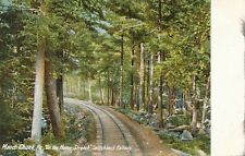 MAUCH CHUNK PA – Switchback Railway On the Home Stretch - udb (pre 1908)