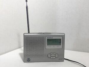 Radio Shack 12-261 NOAA Weather Public Alert RadioClock with AC adapter   T-1
