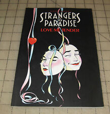 STRANGERS IN PARADISE #4 LOVE ME TENDER (1997) Good+ Condition TPB TERRY MOORE