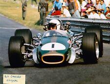 JACK BRABHAM FI CHAMPION 1959-1960-1966 MEXICO BT24 Repco V8 2ND 8 X10 PHOTO 6