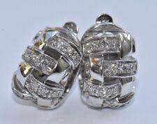 Tiffany & Co Diamond Earrings 18k