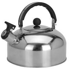 Wasserkessel Wasserkocher Flötenkessel Edelstahl 2 Liter Pfeifkessel Teekessel