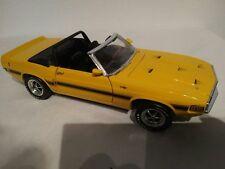 Ertl 1:18 69er Mustang Shelby gt-500 Nº 1205 G avec défaut