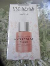 Lumene Instant Glow Watercolor Blush - 15ml Full Size - NEW