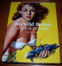 REYNOLD BROWN A LIFE IN PICTURES NEW EDITION SEALED LIMITED ED ILLUSTRATED PRESS