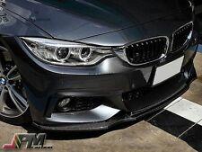 R Style Carbon Fiber Front Lip Fit 420i 428i 435i F32 Coupe w/ M Sport Bumper
