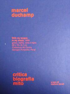 Marcel Duchamp. Critica, biografia, mito. Ediz. illustrata  9788837071615