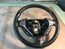 07-08 OEM Acura TL Type S 3 Spoke Steering wheel black leather Factory
