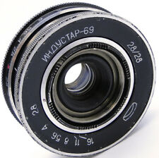 ⭐SERVICED⭐ INDUSTAR-69 28mm f/2.8 Russian Wide Angle Pancake Lens M39 MMZ-LOMO 1