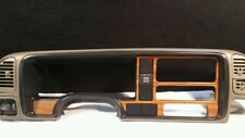 1996 CHEVY / GMC 1500 EX CAB PICKUP  OEM SPEEDOMETER BEZEL /WOOD GRAIN.