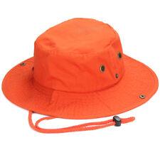 Mens Boonie Bucket Hat Cap 100% Cotton Fishing Military Hunting Safari  Hiking 28699d32a89