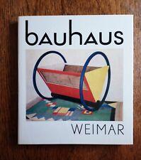 BAUHAUS WEIMAR Scheidig Bayer Bogler Brandt Gropius Kandinsky Lindig Stolzl Klee